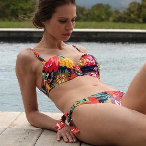 Empreinte Sun Padded Bikini in Feu