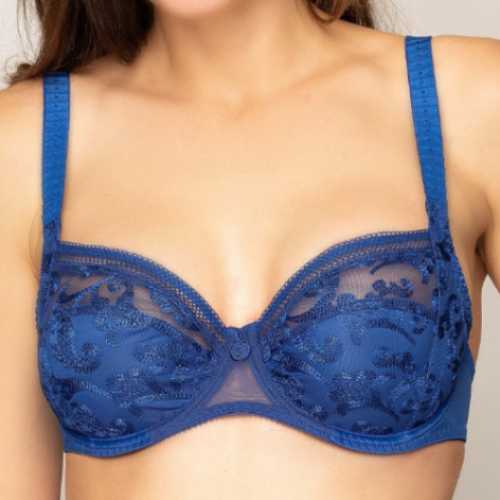 Empreinte Stella Full Cup Bra in Night Blue