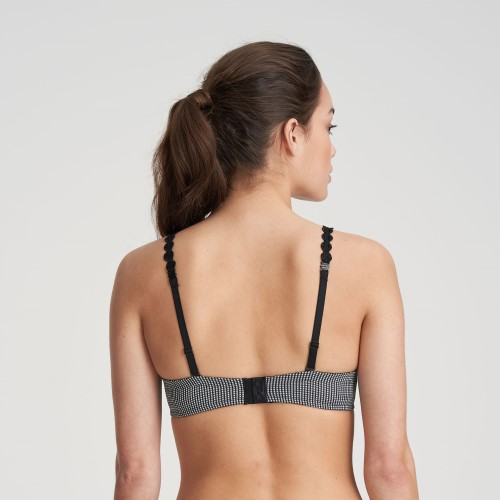 Tom Heart Shape Bra in Check by Marie Jo