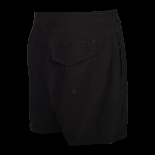 "BETAWAVE 2N1 17"" Swim Shorts in Black by SAXX"