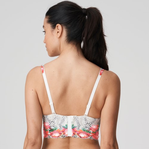 Efforia Deep Plunge Padded Bra in Flowers of Eden by Prima Donna Twist