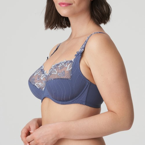 Deauville Full Cup Bra in Nightshadow Blue by Prima Donna